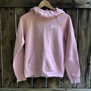 NIKE hoodie pink coral size extra small